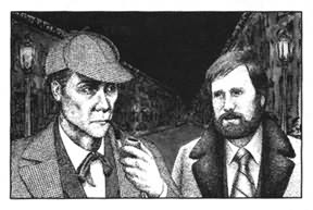 "Jerry Margolins card for 1979. ""Holmes and Margolin"" by Carl Bennett."
